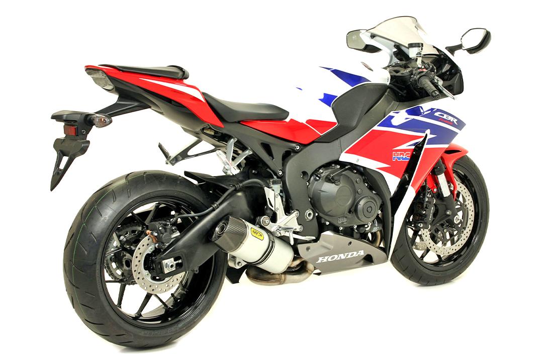 ARROW Auspuff INDY RACE Honda CBR1000RR Fireblade 2014-2016, Aluminium (Nur mit ARROW Krümmer)
