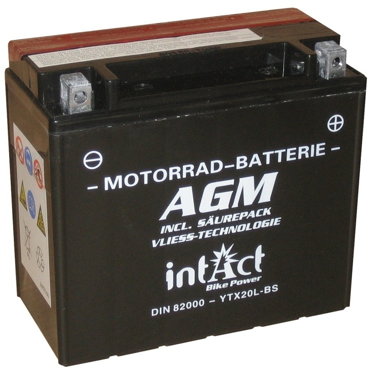 Intact AGM Batterie  YTX20L-BS