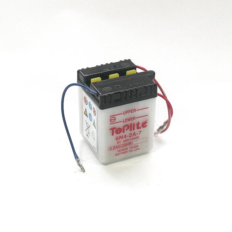 ToPlite YUASA Batterie 6N4-2A-7
