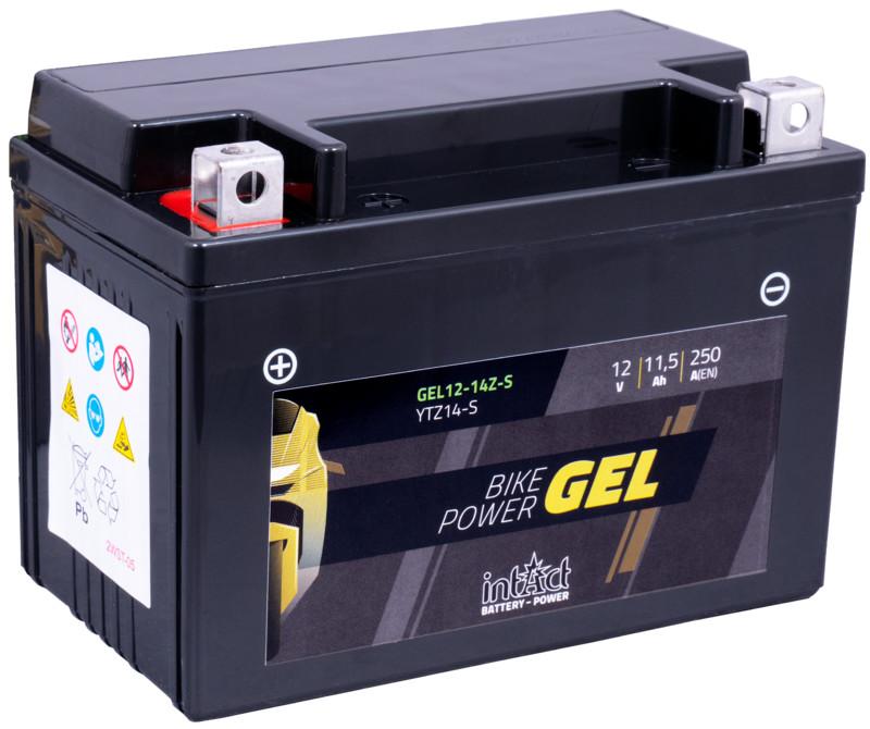Intact GEL Batterie  YTZ14-S