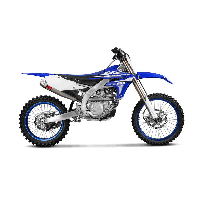 Akrapovic Evolution Line (Titanium) Auspuffanlage für Yamaha YZ 450 F 2018-2019, WR450F 2019-