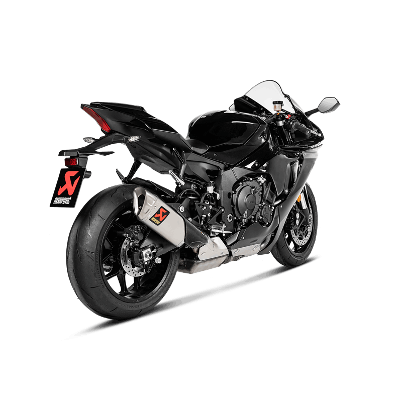 Akrapovic Slip-On Line (Titanium) Auspuffanlage für Yamaha YZF-R1 2015- / Yamaha YZF-R1 M 2020-