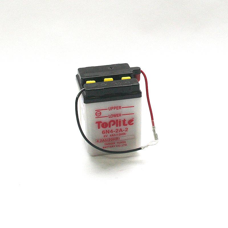 ToPlite YUASA Batterie 6N4-2A-2