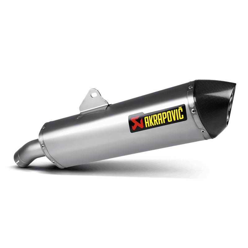 Akrapovic Slip-On Line (Titanium) Auspuff für BMW F800GT 2013-2016, F800R 2009-2016