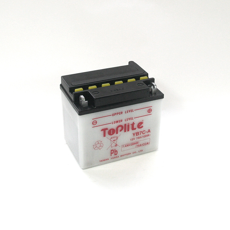 ToPlite YUASA Batterie YB7C-A