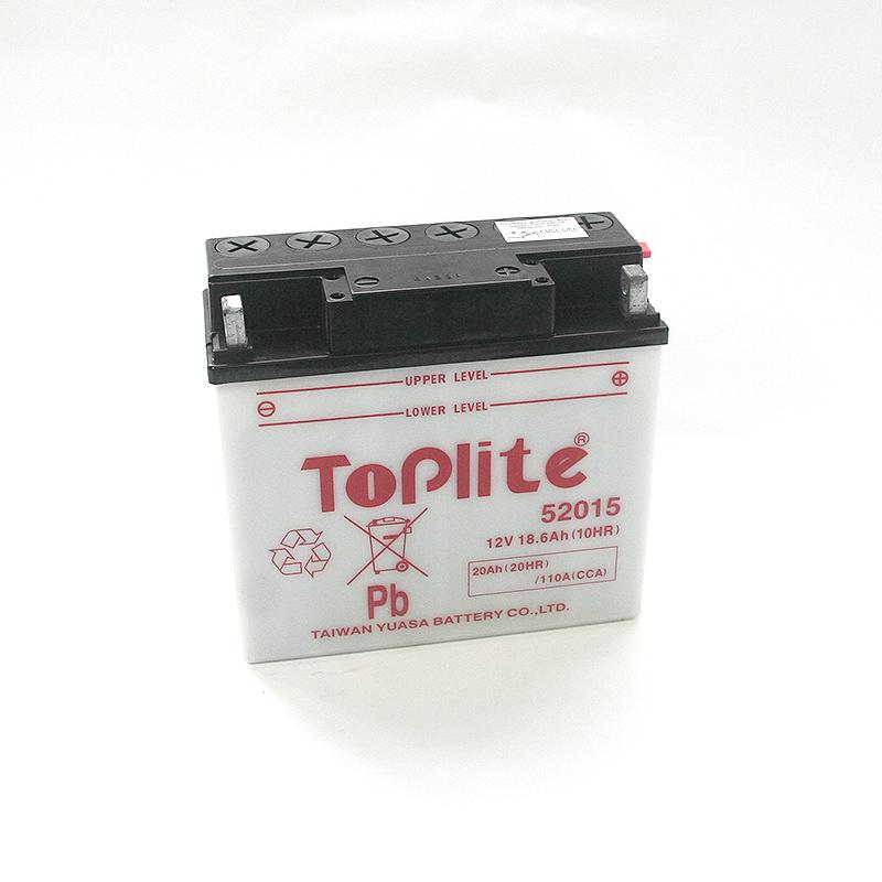 ToPlite YUASA Batterie 52015