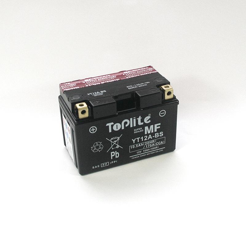 ToPlite YUASA Batterie YT12A-BS