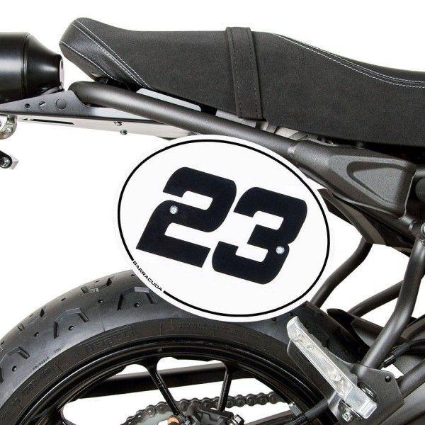 Barracuda Nummerntafel Yamaha XSR700