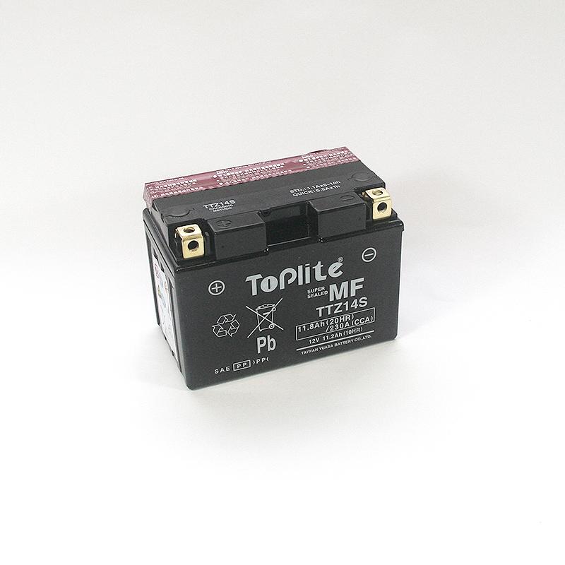 ToPlite YUASA Batterie TTZ14-S