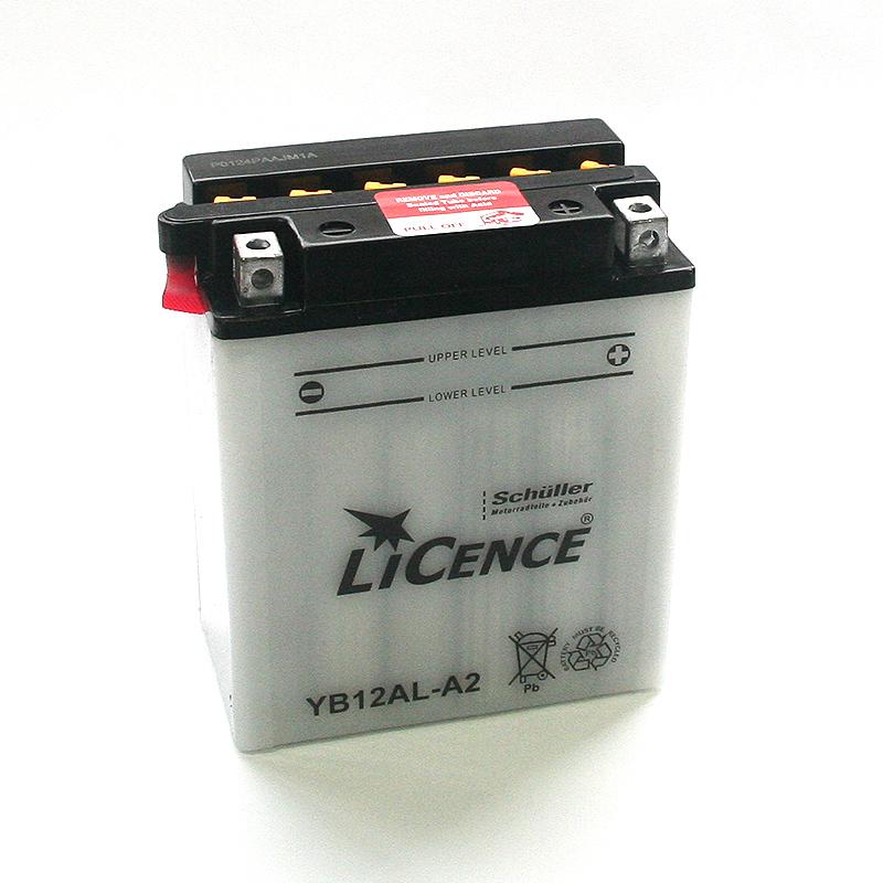 LICENCE Batterie YB12AL-A2