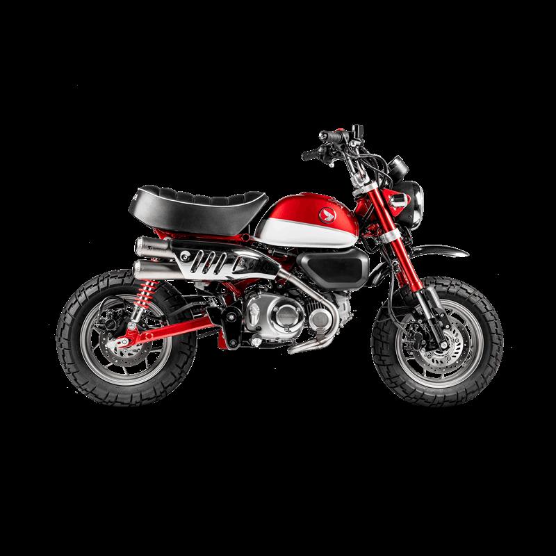 Akrapovic Austauschkrümmer Edelstahl für Honda Monkey 125 Modelljahr 2019-