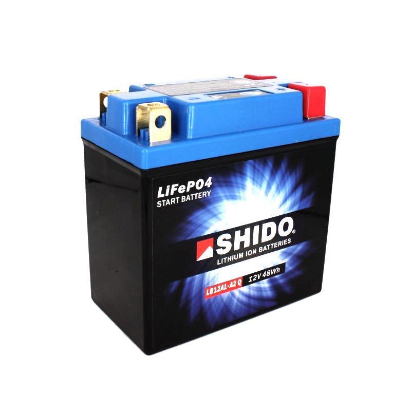 SHIDO Lithium-Batterie LB12AL-A2-Li