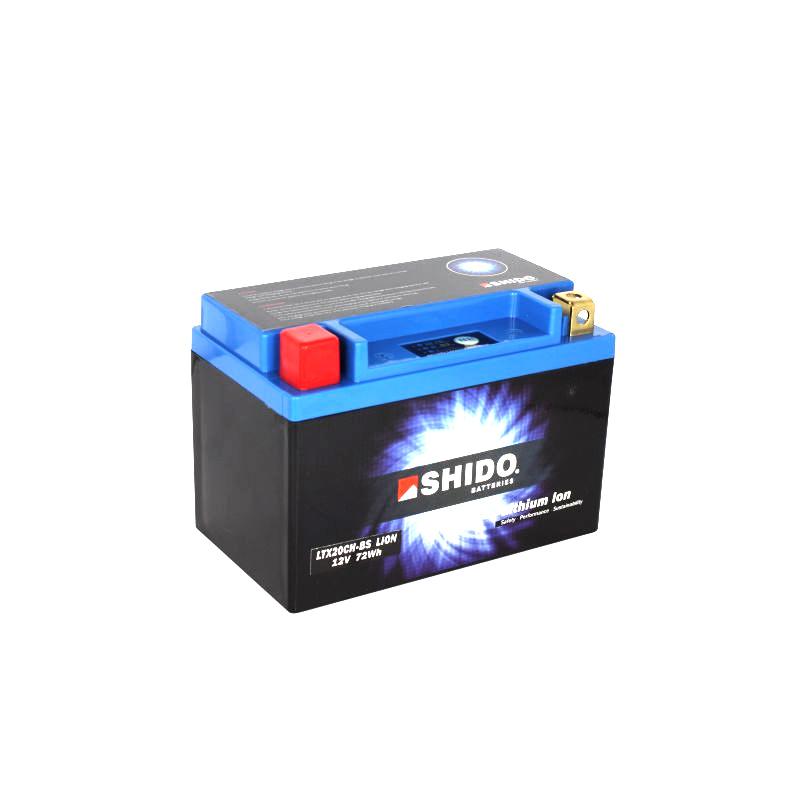 SHIDO Lithium-Batterie LTX20CH-BS-Li