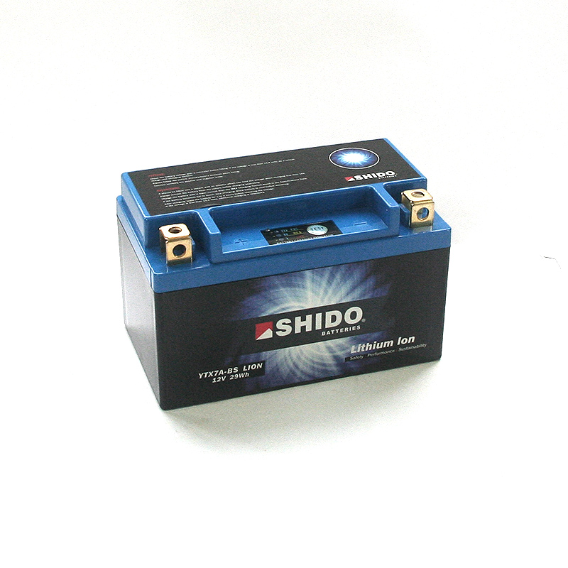 SHIDO Lithium-Batterie LTX7A-BS-Li