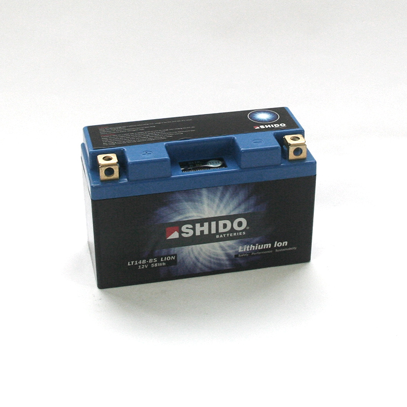 SHIDO Lithium-Batterie LT14B-BS-Li