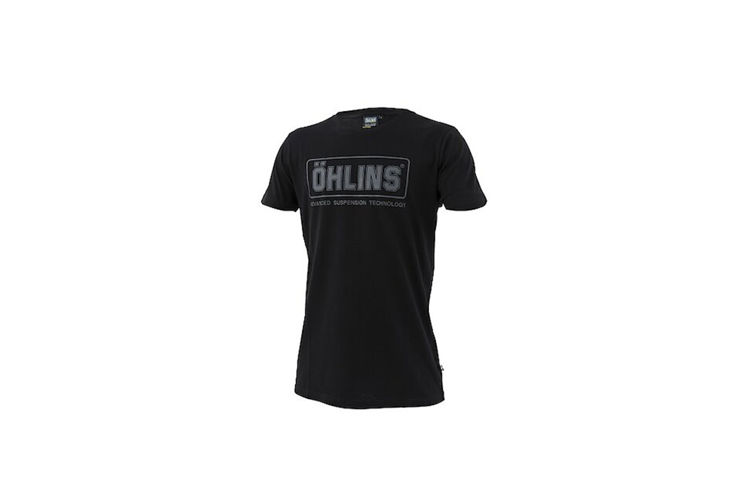 Öhlins Original T-Shirt schwarz Größe M
