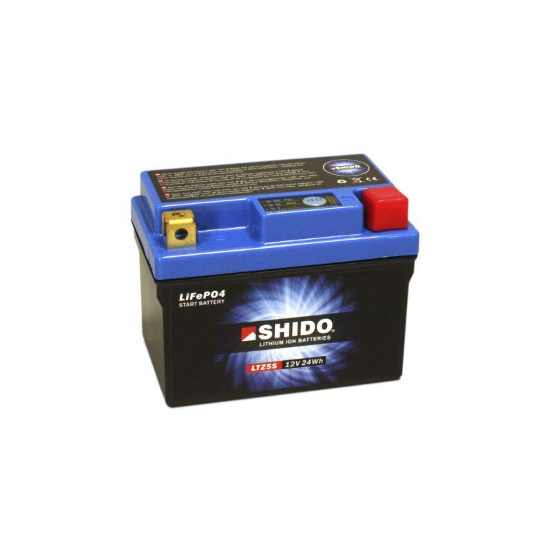 SHIDO Lithium-Batterie LTZ5S, Connect, 2Ah