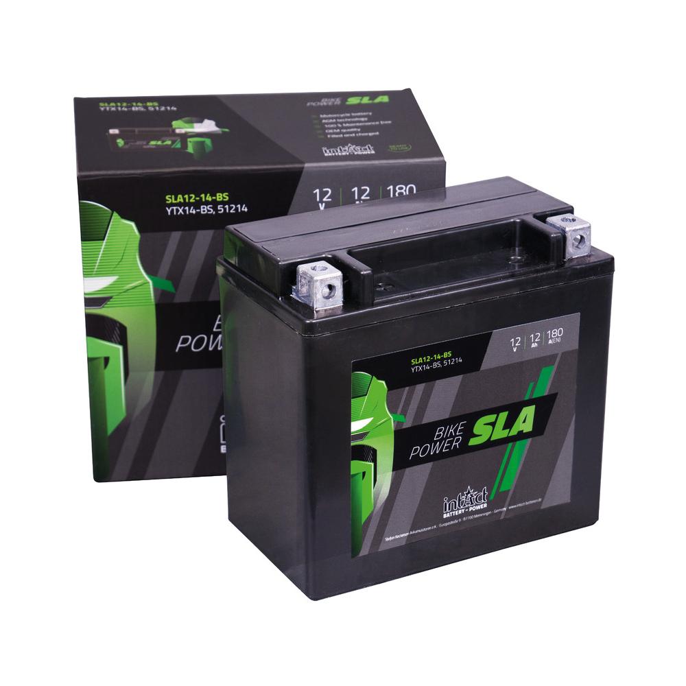 Intact verschlossene AGM Batterie YTZ14-S