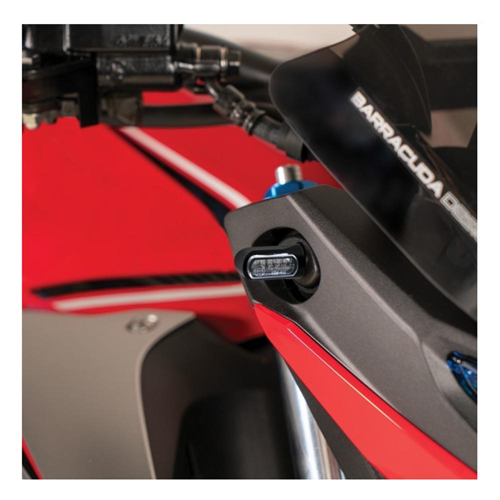 Barracuda Blinker M-LED B-LUX schwarz