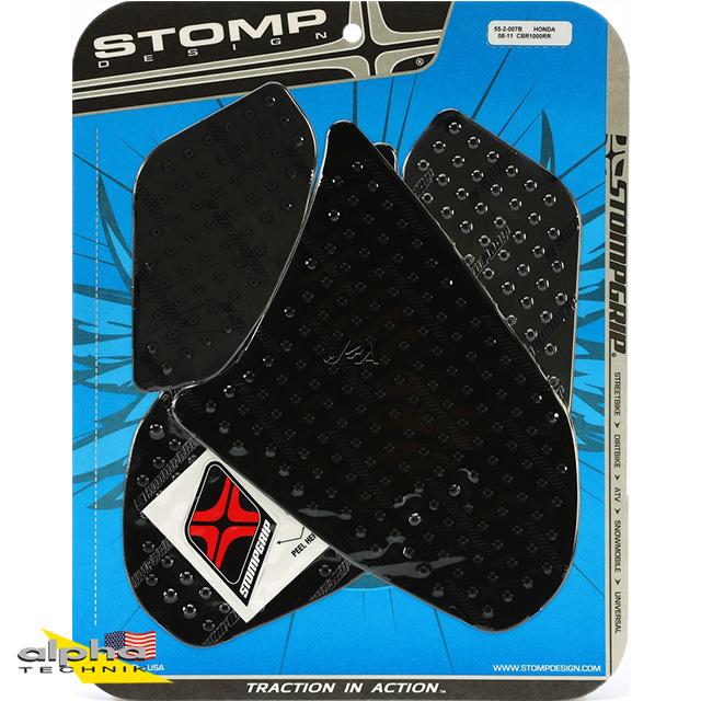 Stompgrip schwarz, Volcano, für Honda CBR1000RR, 2008-11