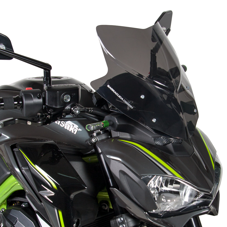 Barracuda Windschild Aerosport Plexiglas für Kawasaki Z900 2017 - 2019