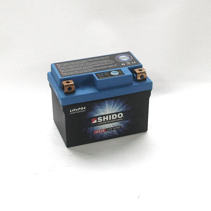 SHIDO Lithium-Batterie LTZ7S-Li