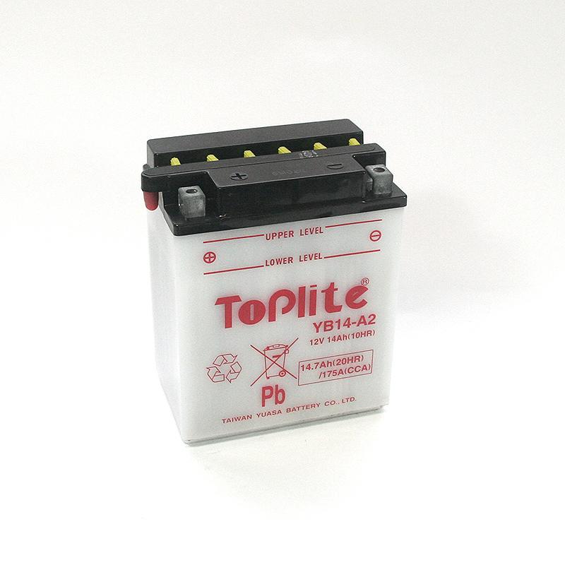ToPlite YUASA Batterie YB14-A2