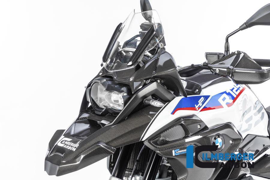 Ilmberger Carbon Schnabel vorne / oberer Kotflügel Carbon für BMW R1250GS ab 2019