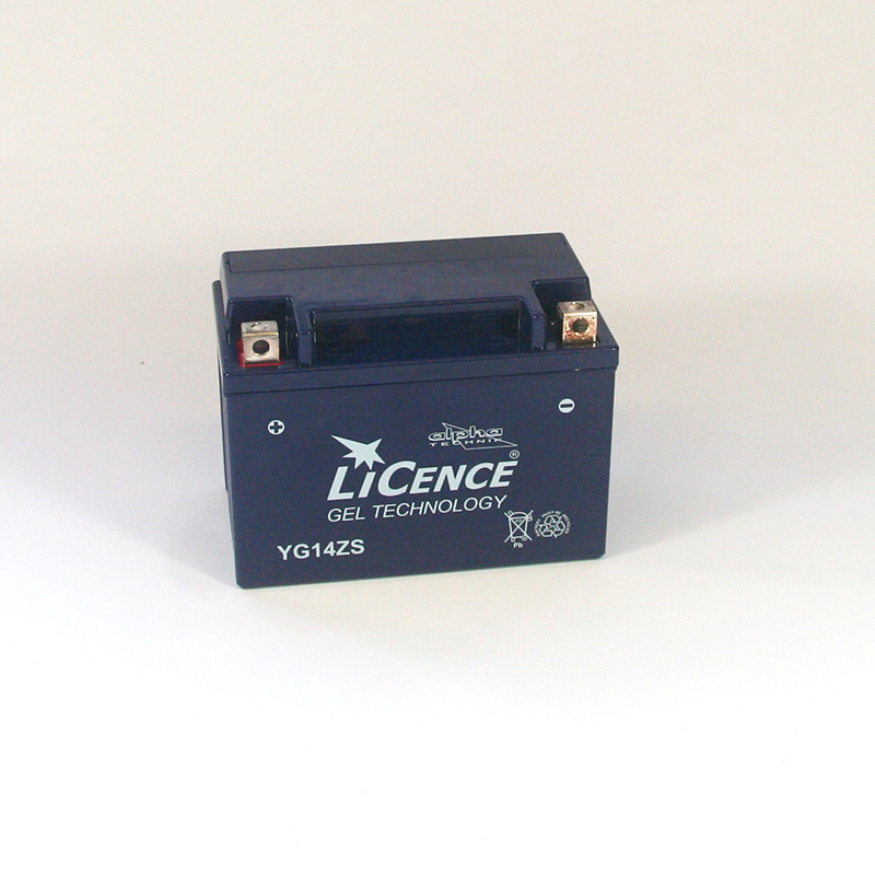LICENCE Batterie YG14ZS