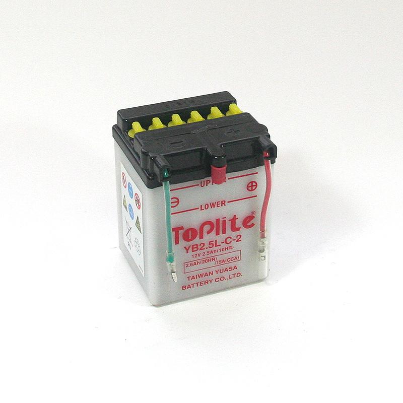 ToPlite YUASA Batterie YB2,5L-C-2