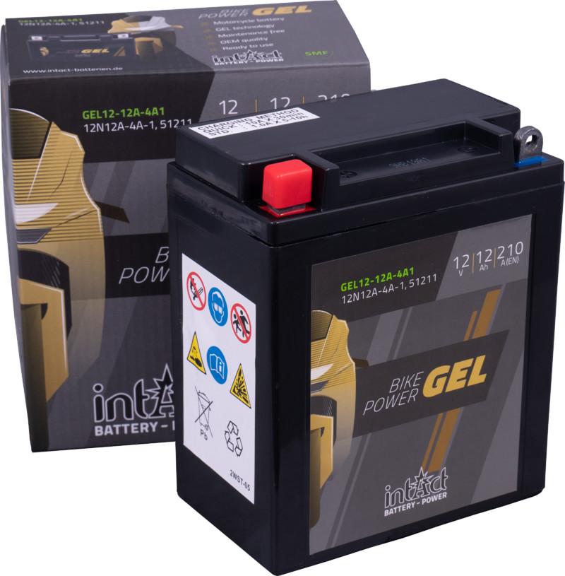 Intact GEL Batterie  12N12A-4A-1 / 512