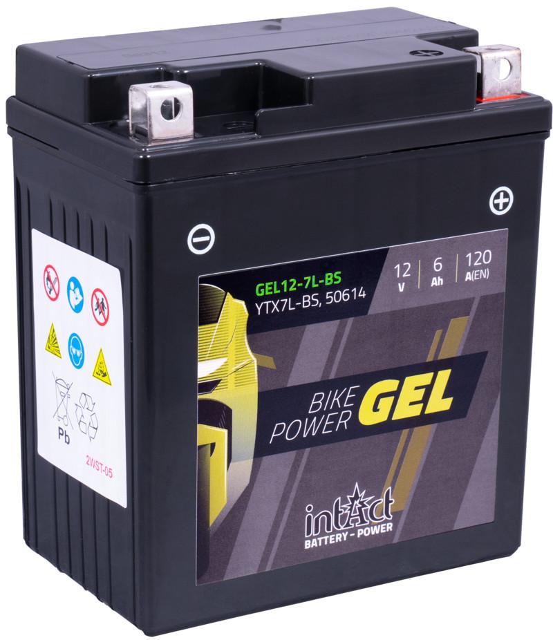 Intact GEL Batterie  YTX7L-BS / 50614