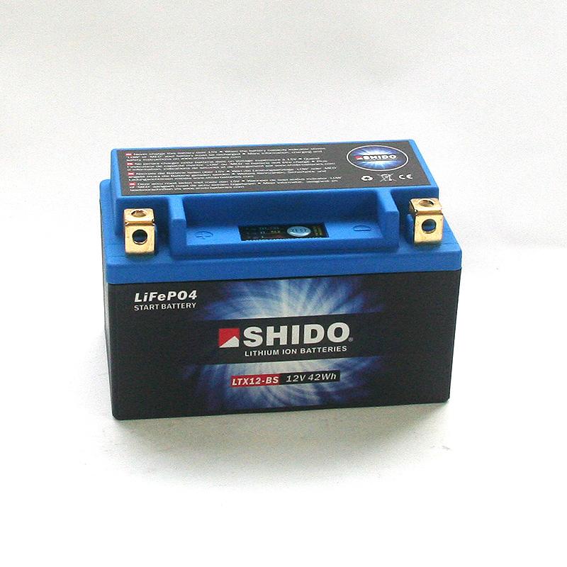 SHIDO Lithium-Batterie LTX12-BS-Li