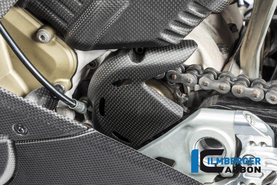 Ilmberger Carbon Ritzelabdeckung matt für Ducati Panigale V4 / V4S ab 2018