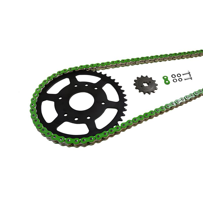 Kettensatz Teilung 520 MVXZ-2, Kette in grün
